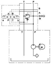 Schema elettrico centralina oleodinamica